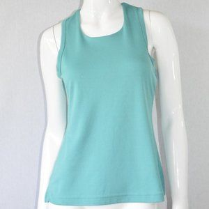 REI Blue Sleeveless Racer Back Tank Size Medium